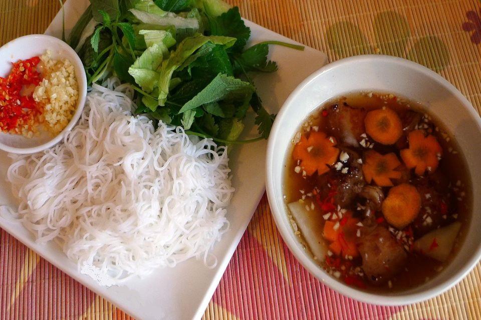 bun cha - hanoi local food tours